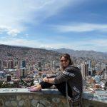 Overlooking La Paz - the location of my fieldwork